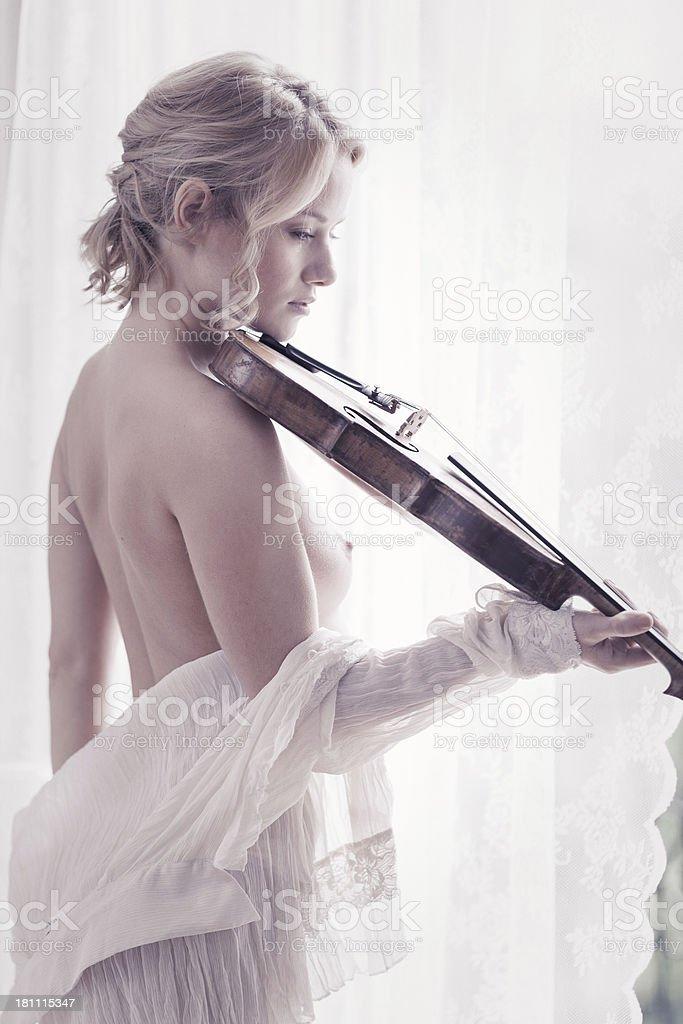 Bedroom melodies stock photo