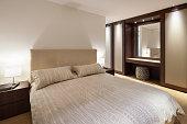 Bedroom of luxury house