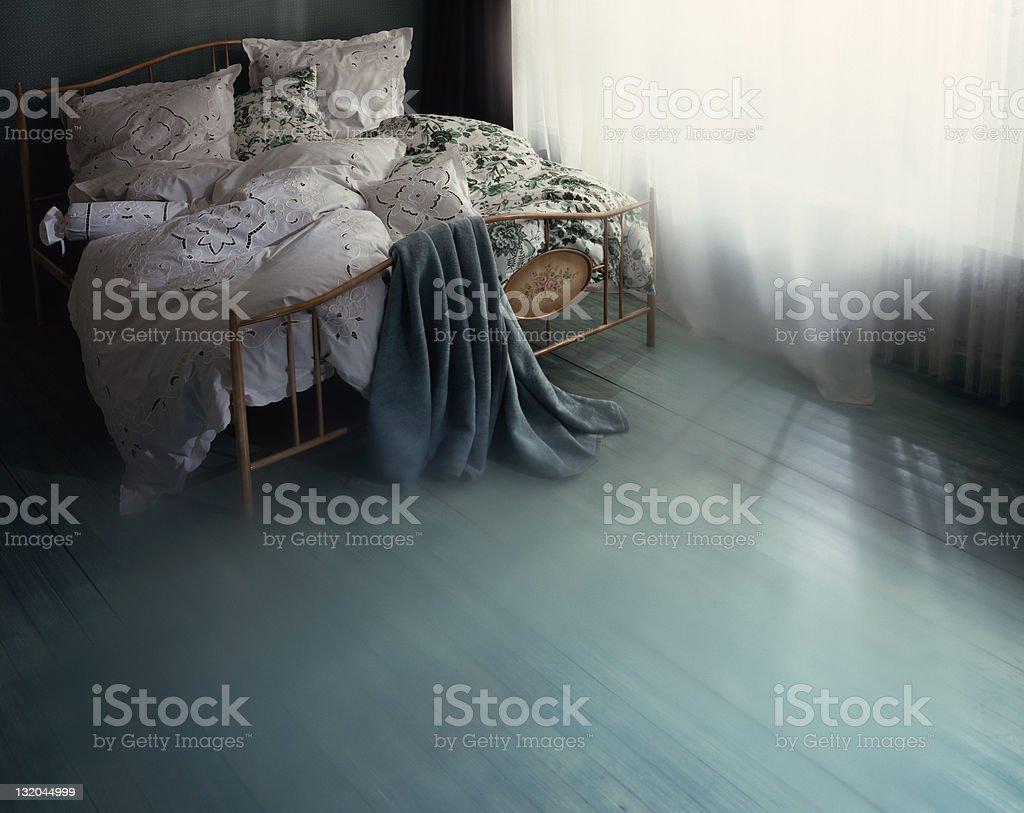 Camera da letto foto stock royalty-free