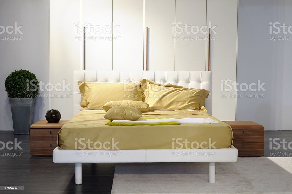 Bedroom stock photo