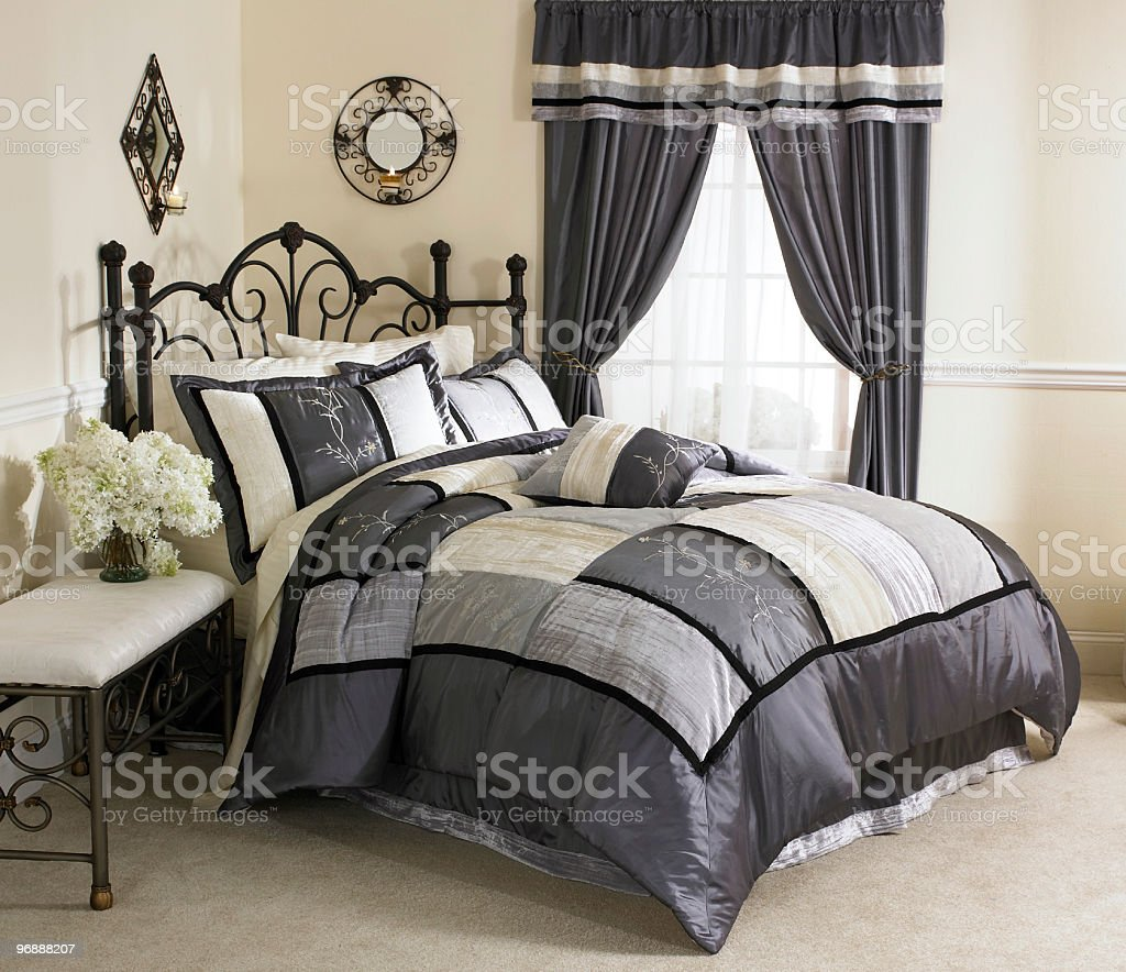Bedroom Satin stock photo