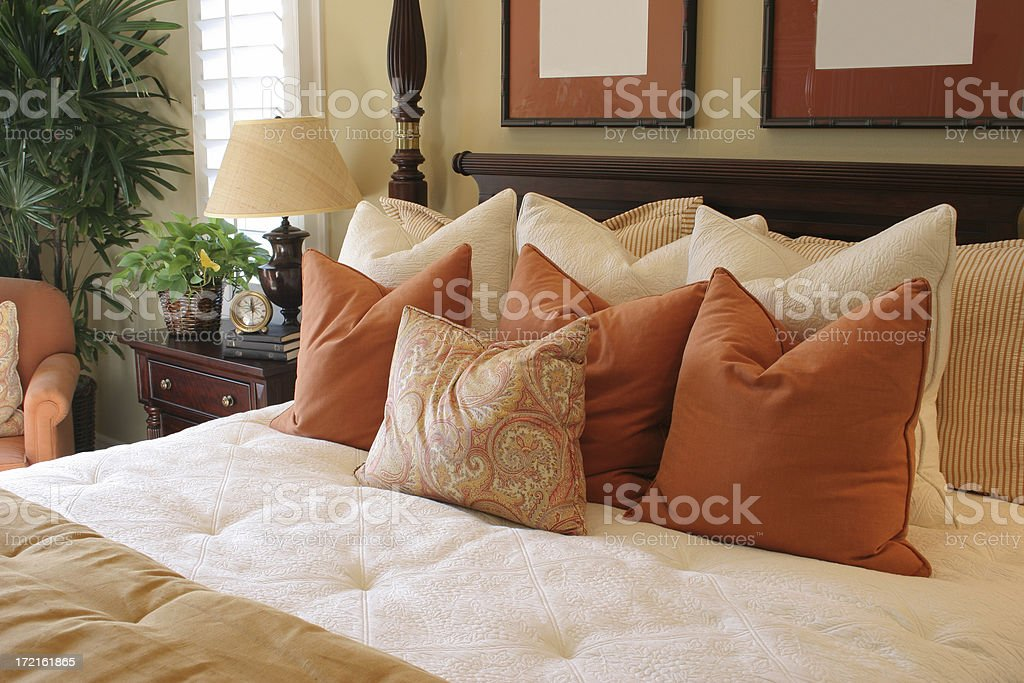 Bedroom series royalty-free stock photo