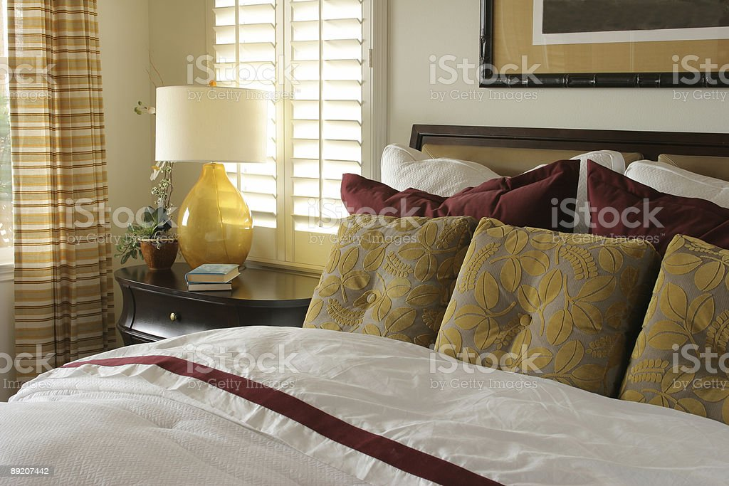Bedroom series royalty-free stock photo