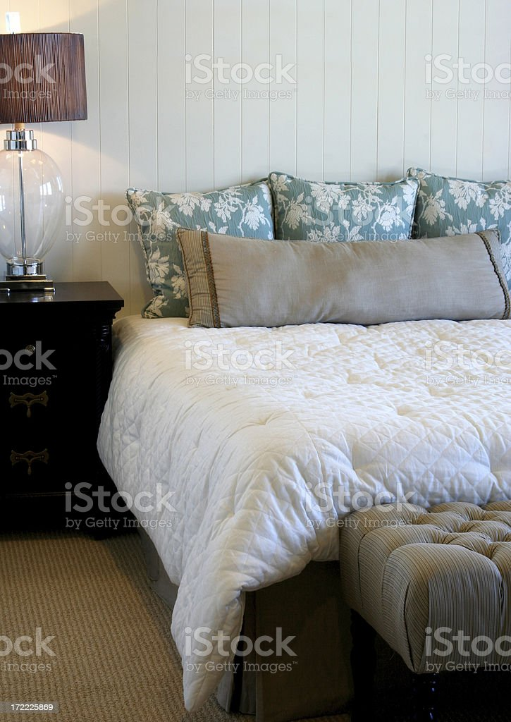 Bedroom Simplicity royalty-free stock photo