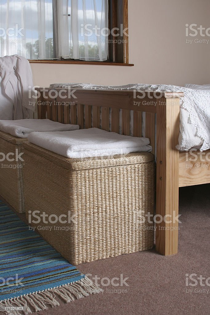 bedroom view royalty-free stock photo