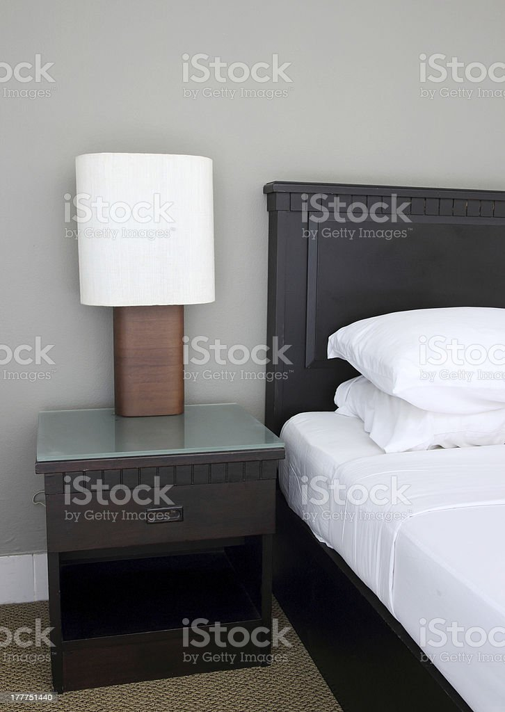 Bedside Lamp royalty-free stock photo