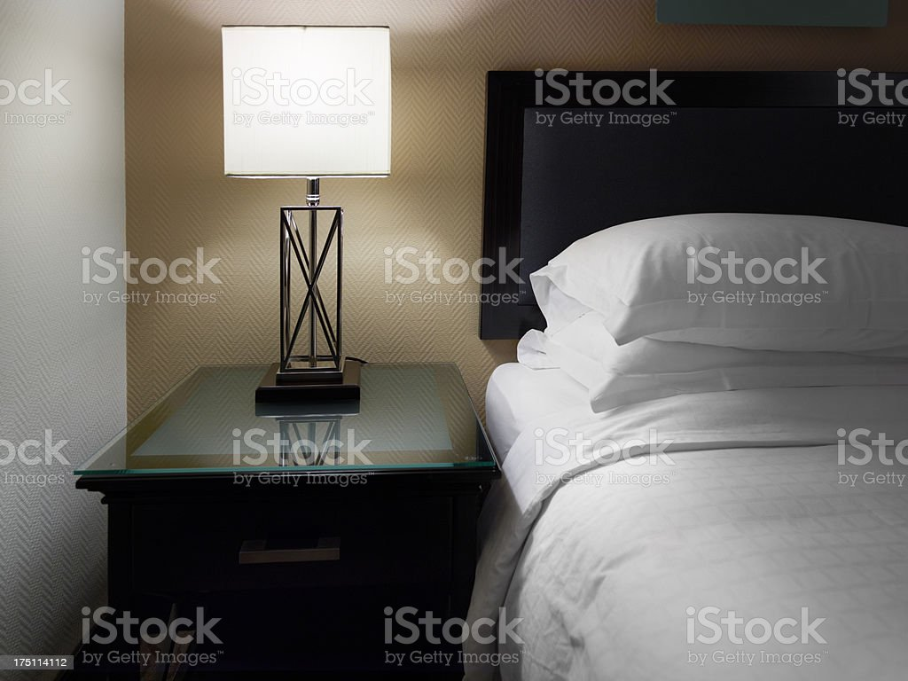 Bedside stock photo