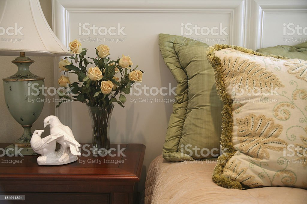 Bedside royalty-free stock photo