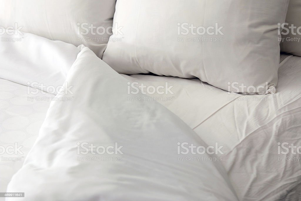 Bedtime background stock photo