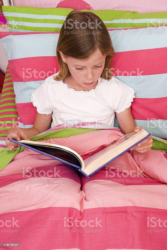 Schlafenszeit lesen Lizenzfreies stock-foto