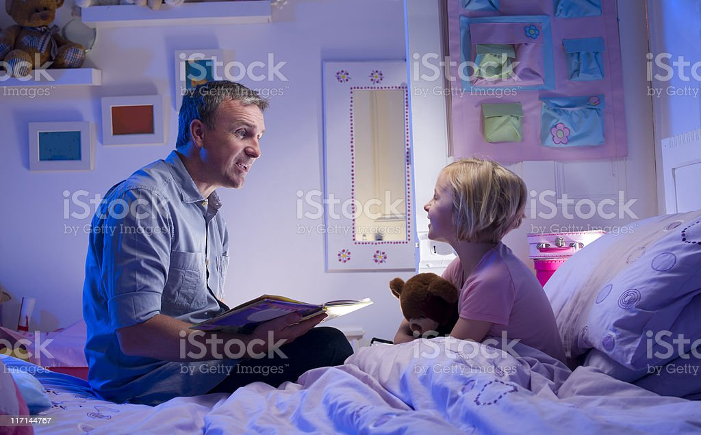 bedtime story royalty-free stock photo