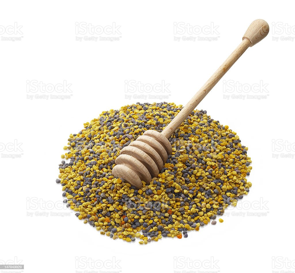 Bee Pollen royalty-free stock photo