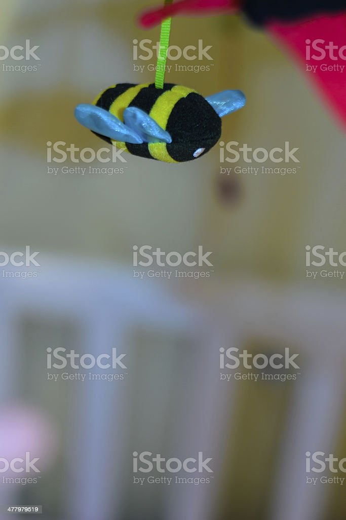 Bee toy royalty-free stock photo