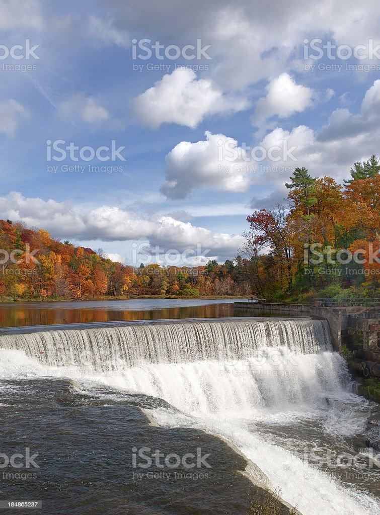 Beebe Lake Cornell University stock photo