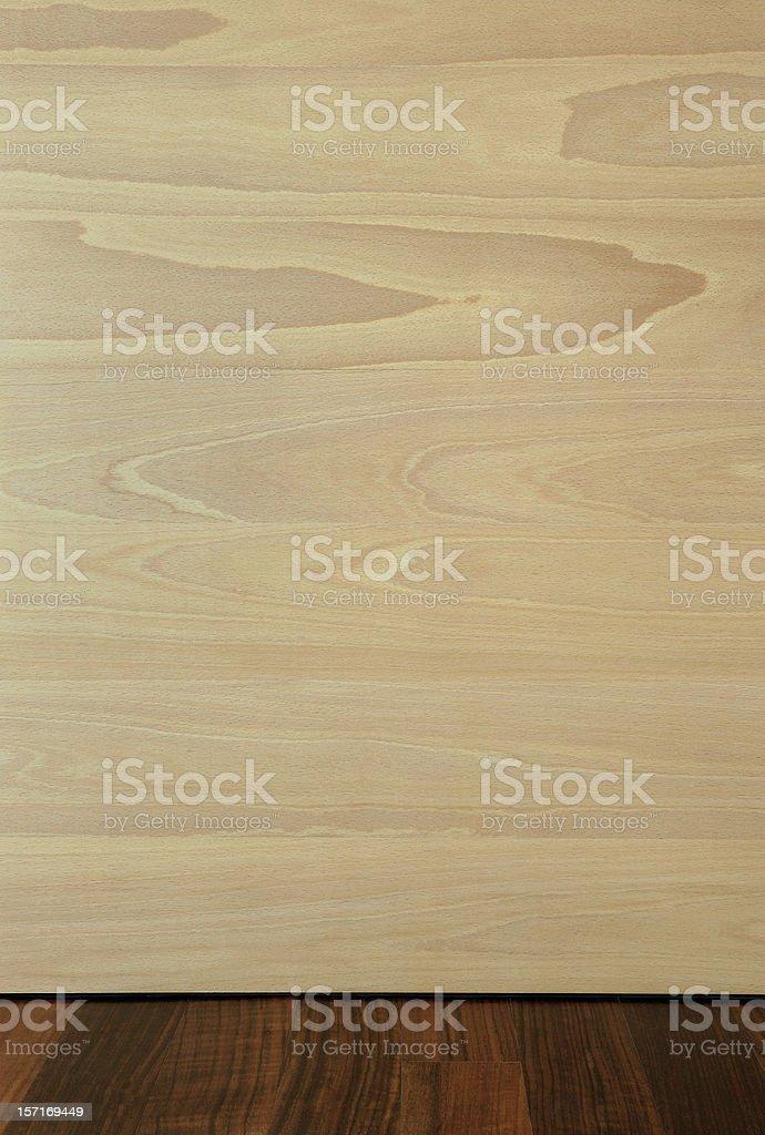 Beech and Shedua/Mutenye wood. stock photo