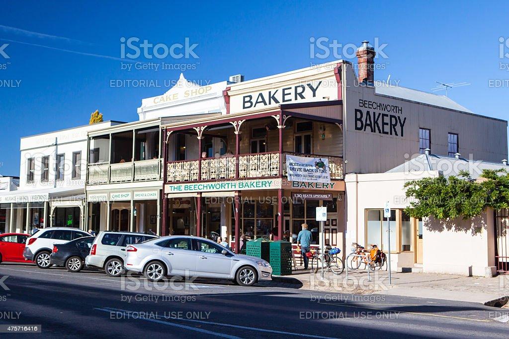 Beechworth Bakery stock photo