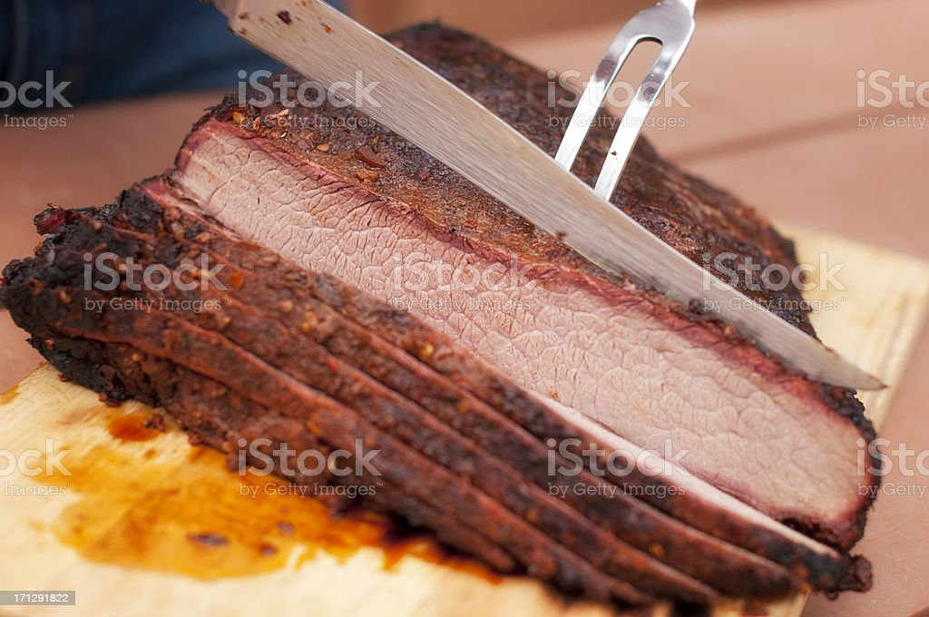 Beef Brisket stock photo