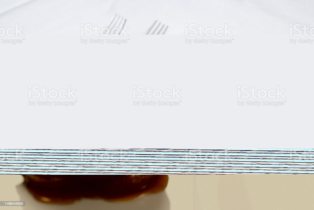 Beef Dinner Entree royalty-free stock photo