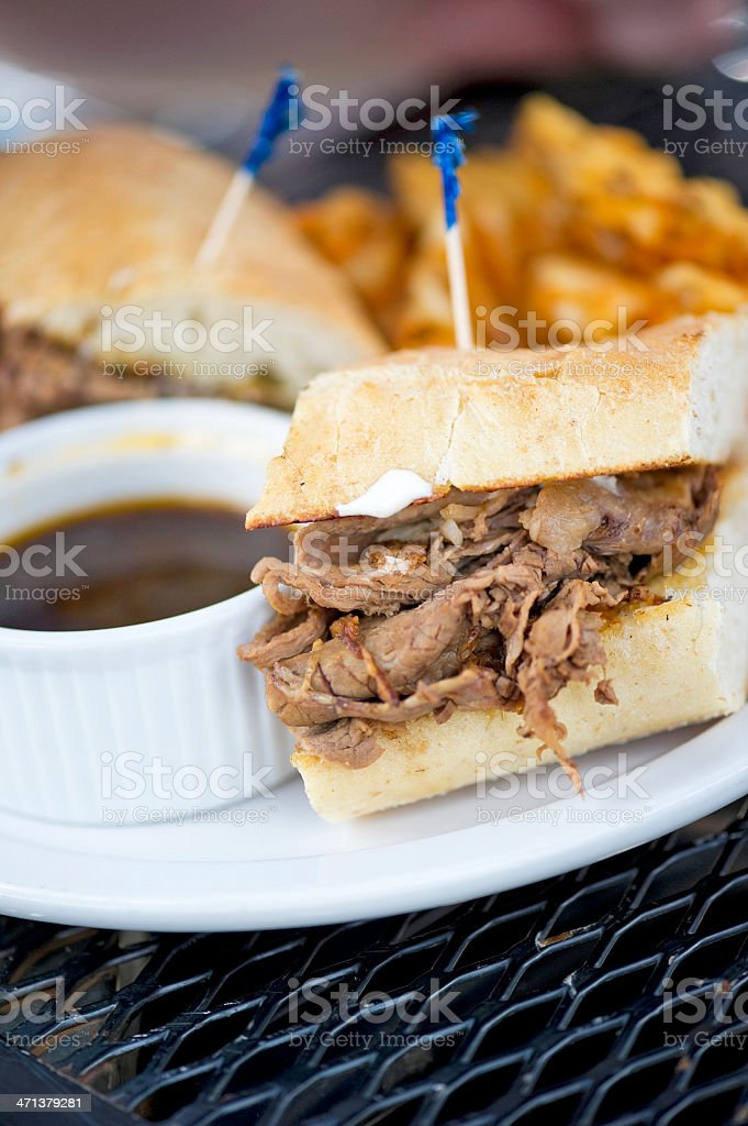 Beef Dip royalty-free stock photo