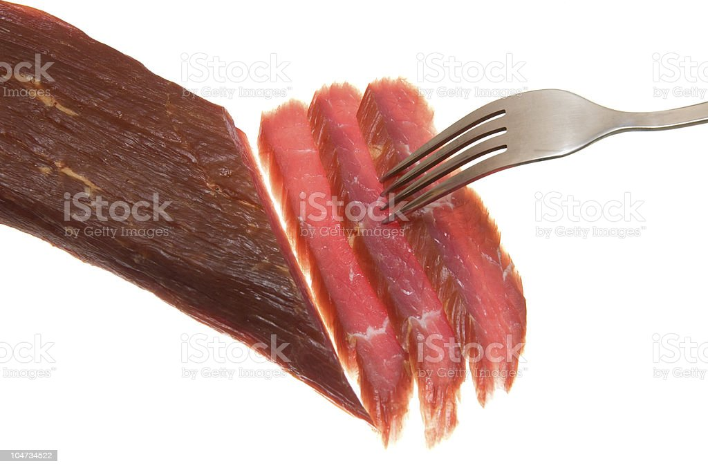 Beef dried royalty-free stock photo