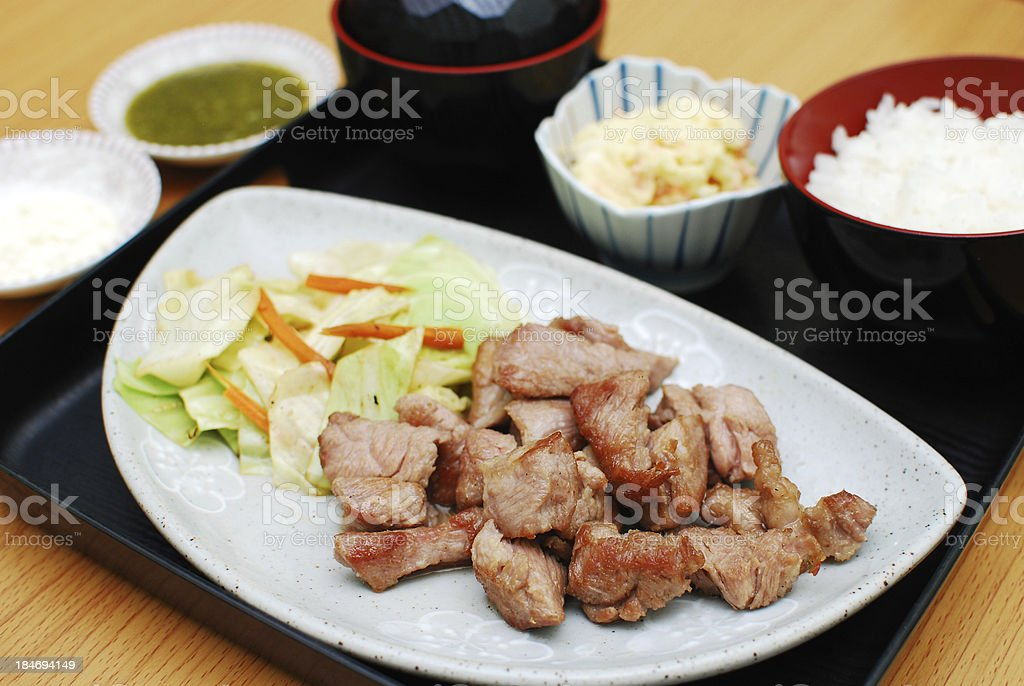 beef grill royalty-free stock photo