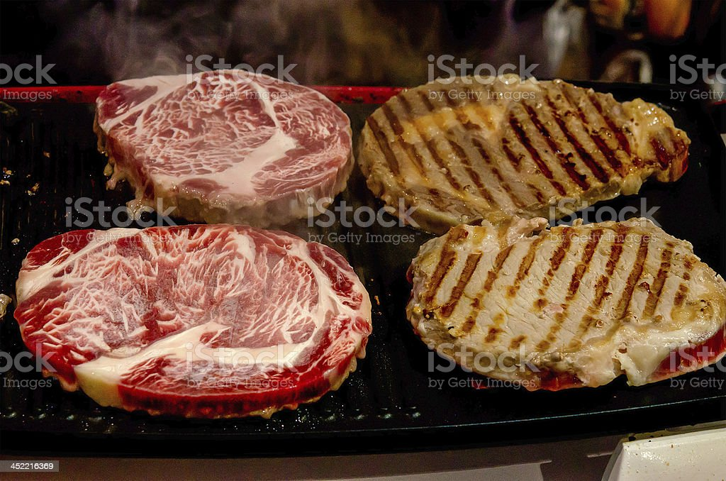 Beef grilled royalty-free stock photo