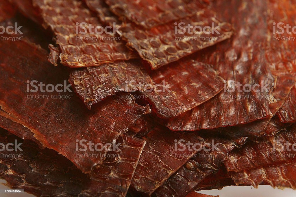 Beef Jerky royalty-free stock photo
