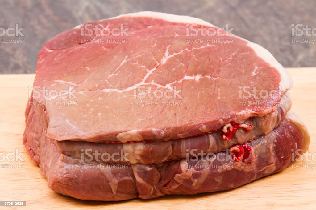 Beef joint stock photo