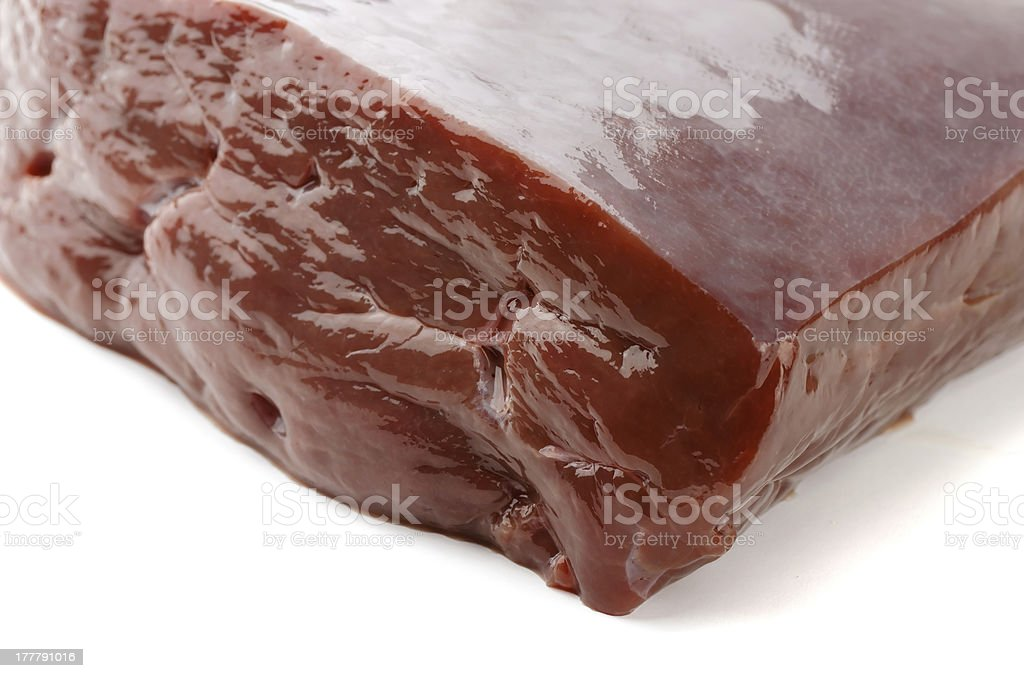 Beef liver royalty-free stock photo