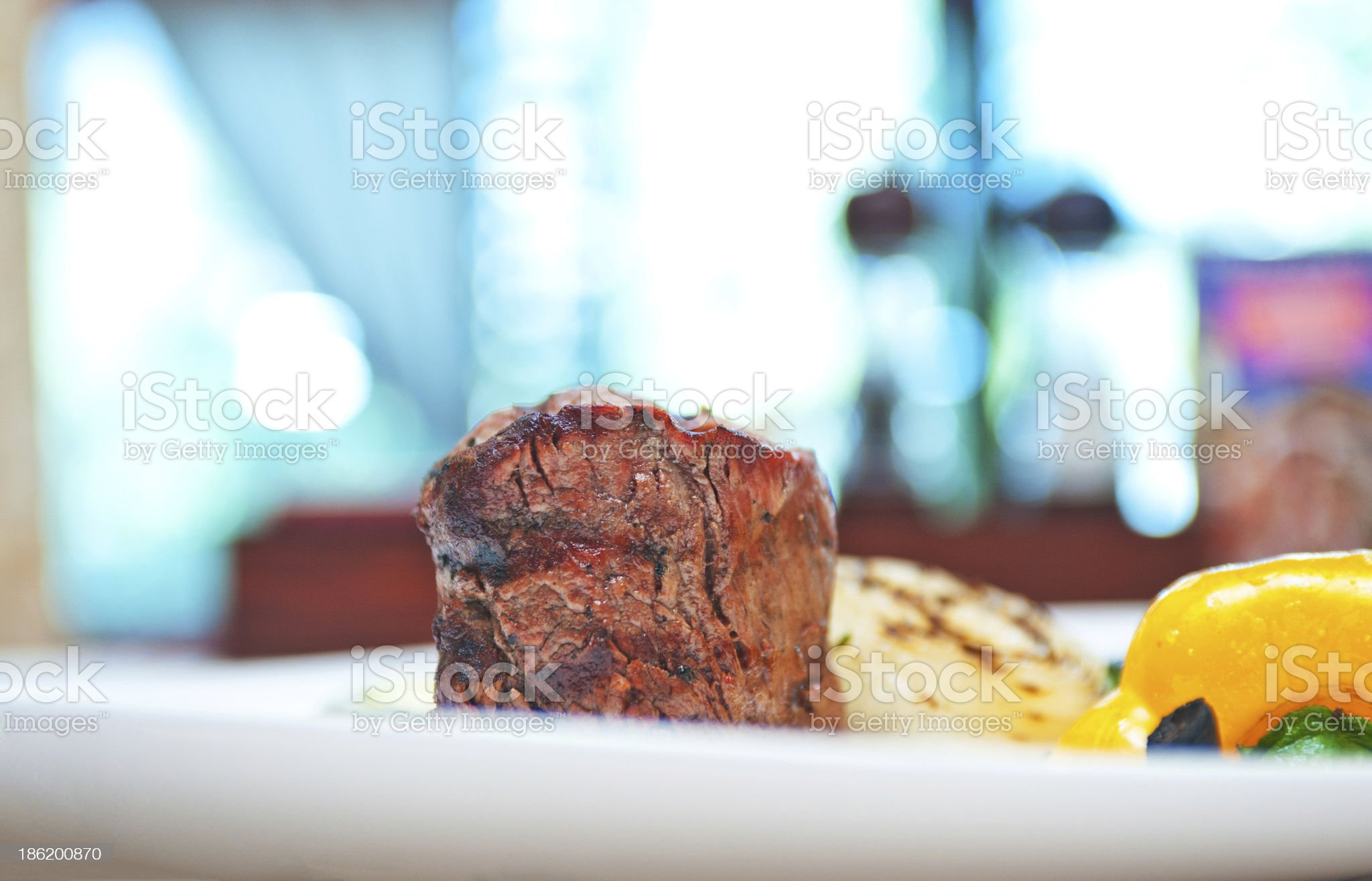 beef meat and vegetable royalty-free stock photo