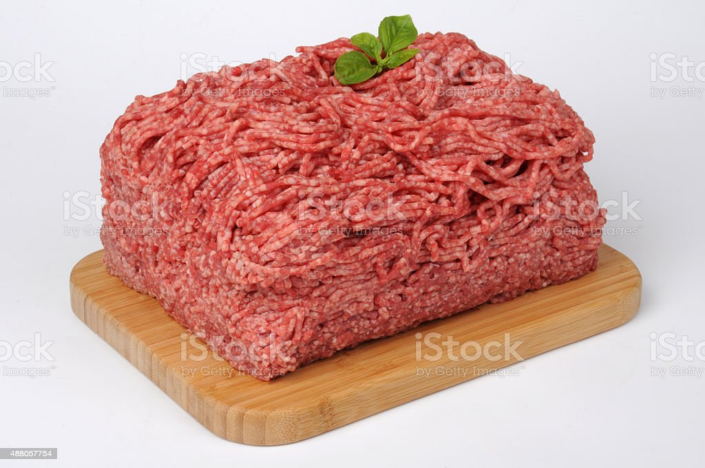 Beef Mincemeat stock photo