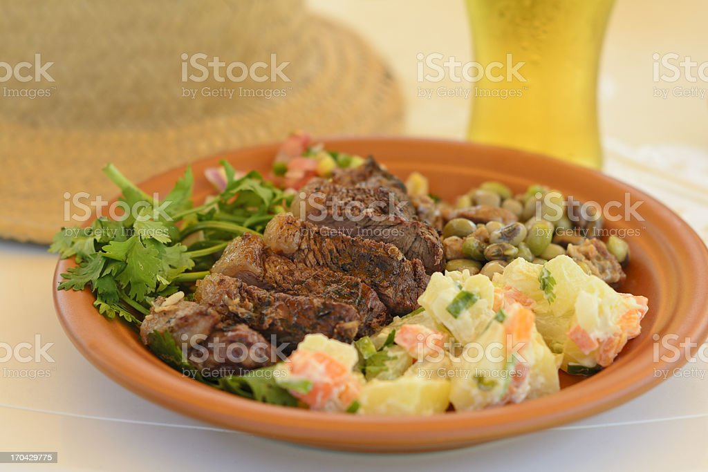 BBQ  Beef royalty-free stock photo