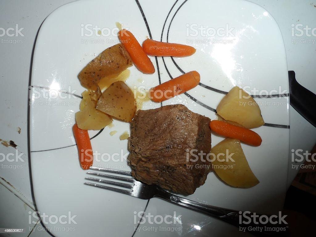 Beef Pot Roast royalty-free stock photo