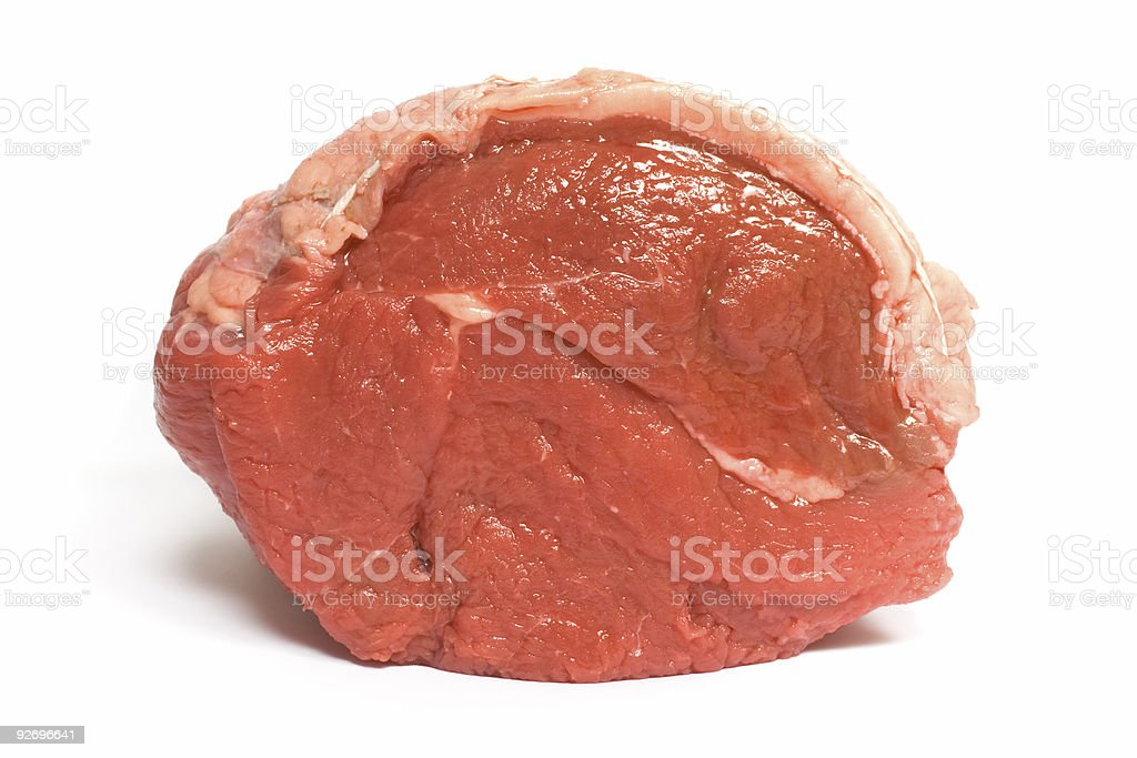 Beef Roast end on royalty-free stock photo