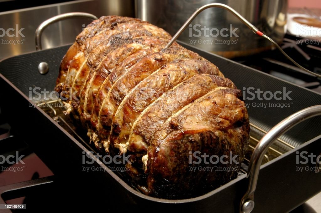 beef roast royalty-free stock photo