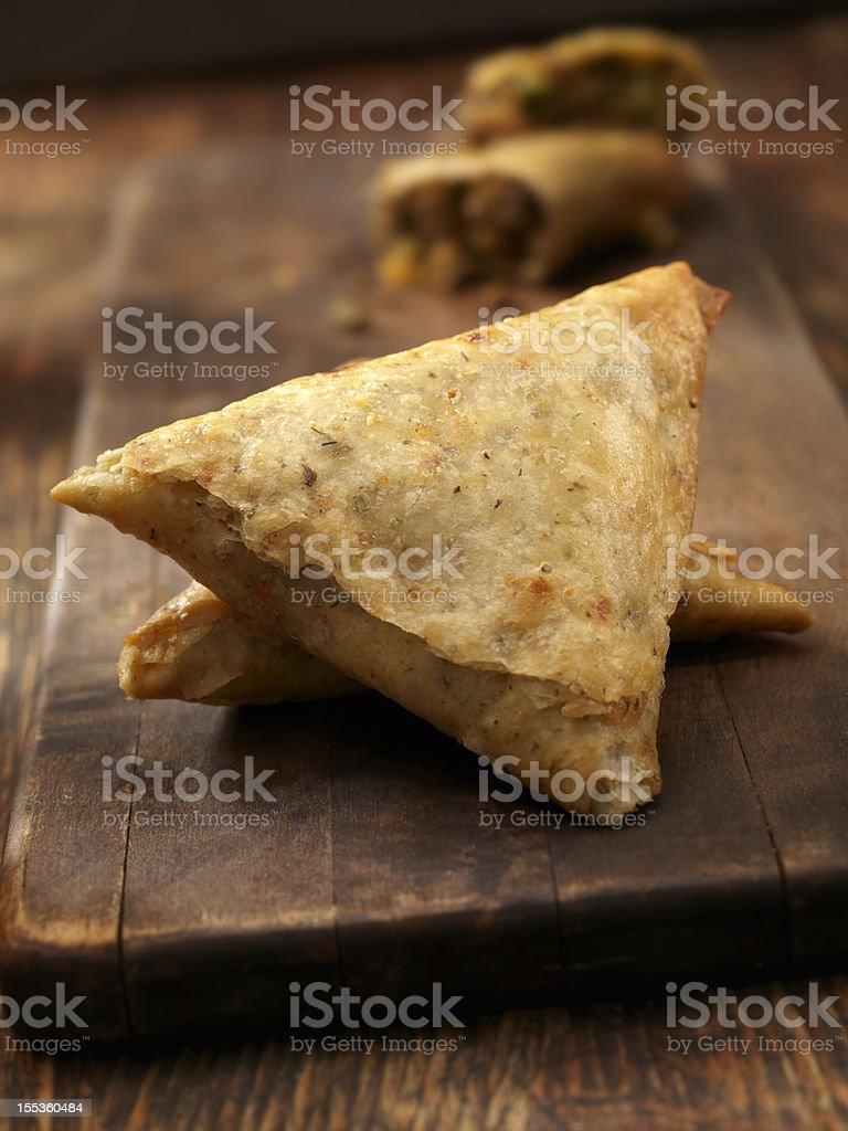 Beef  Samosa royalty-free stock photo