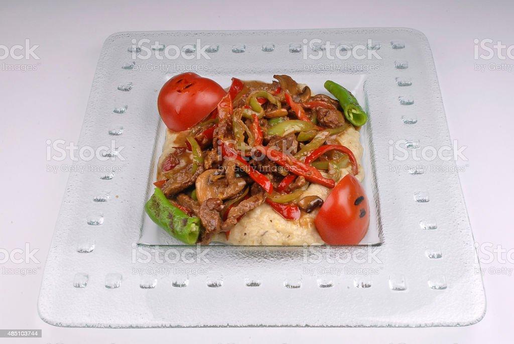 Beef Saute stock photo