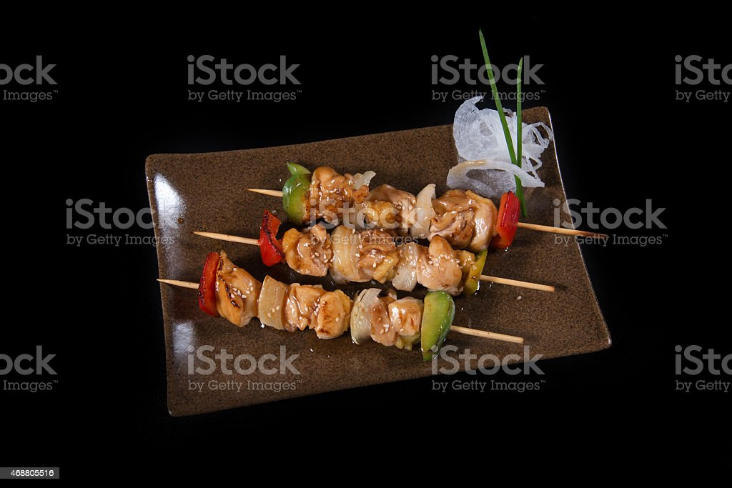 Beef Shishkabobs stock photo