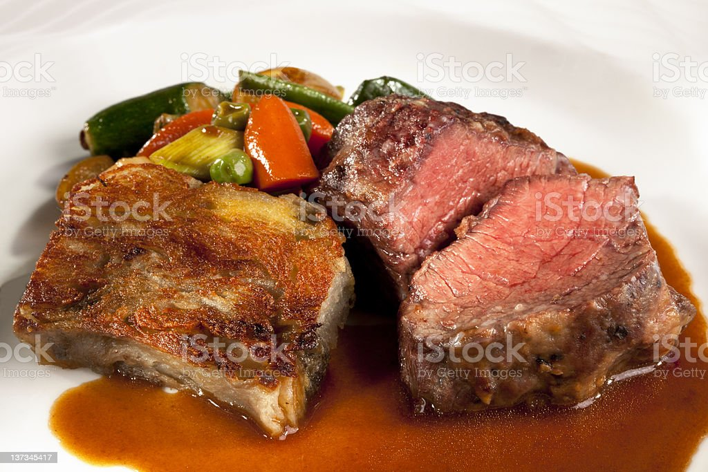 Beef Shortribs stock photo