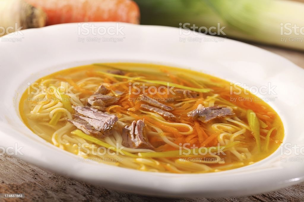 Beef soup royalty-free stock photo
