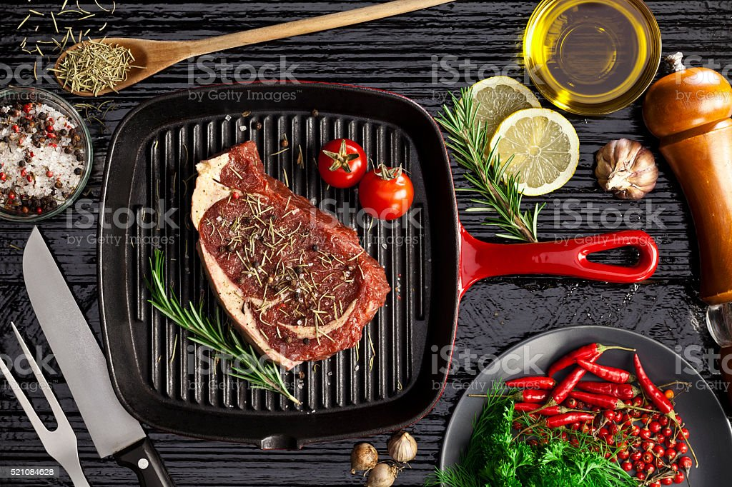 Beef steak fillet stock photo