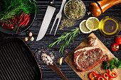 Beef steak fillet