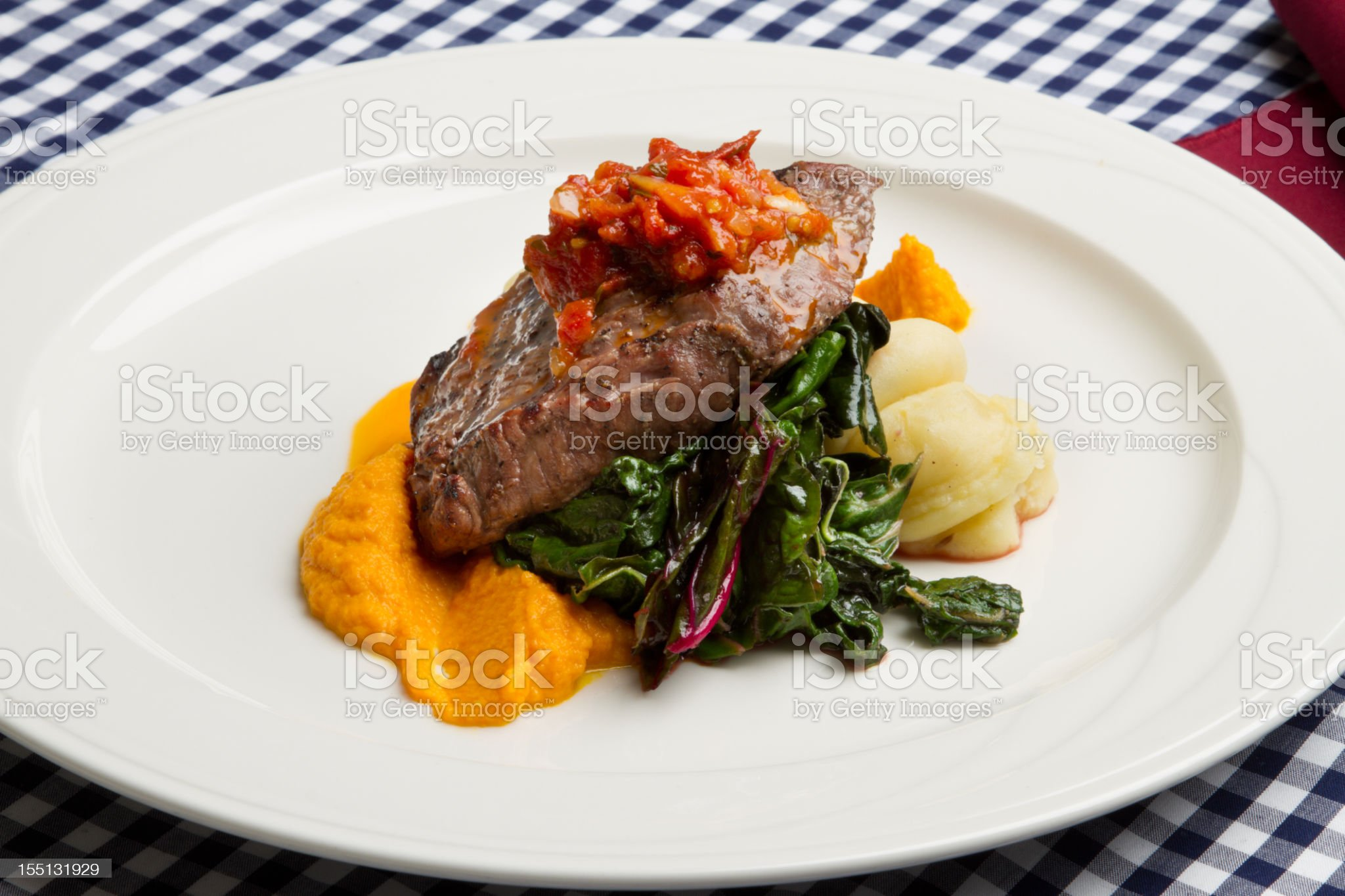 Beef Steak Florentine royalty-free stock photo