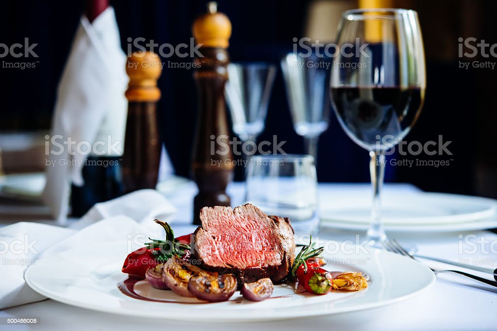 Beef steak royalty-free stock photo