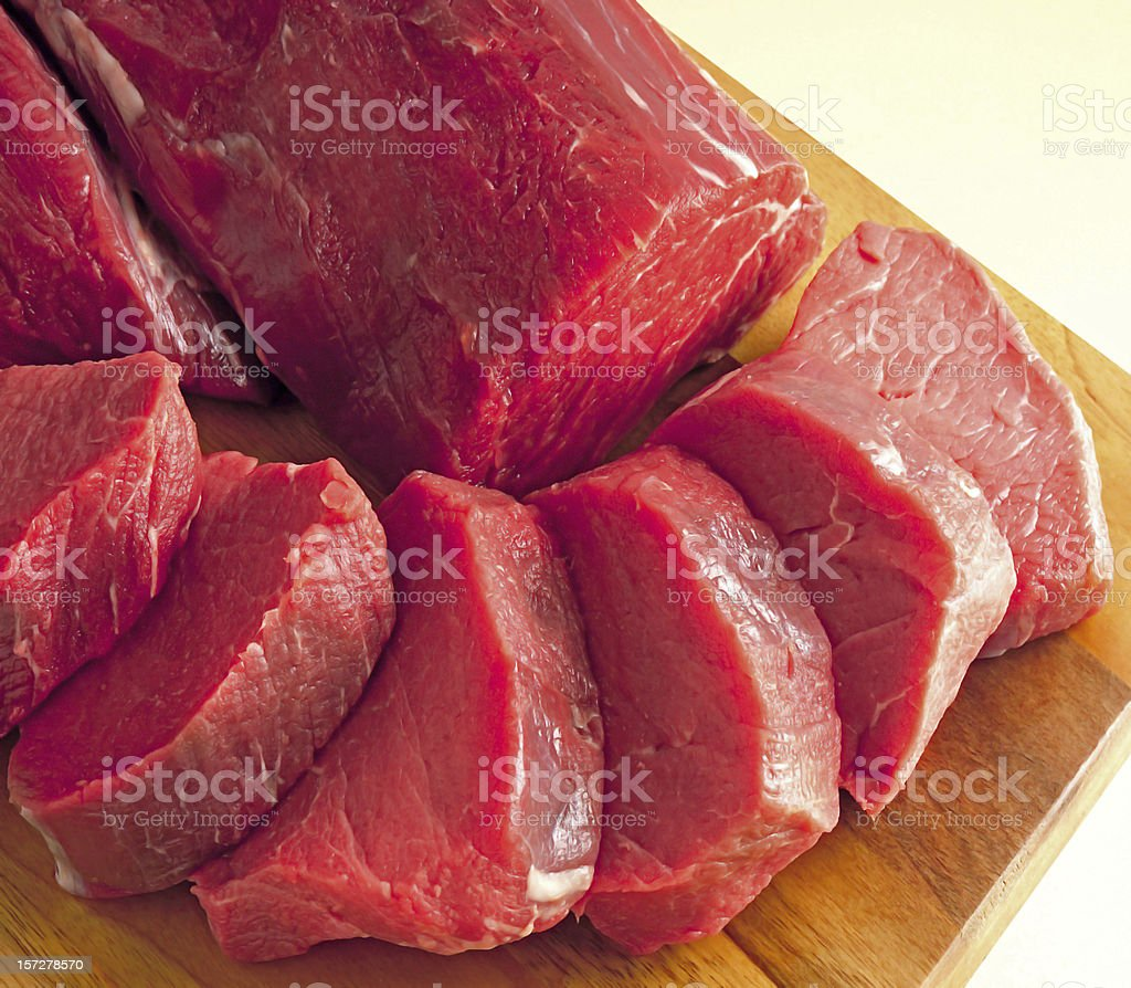 beef steak RAW royalty-free stock photo