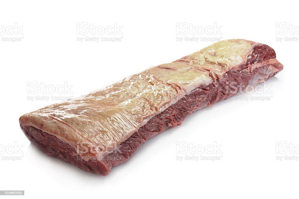 beef striploin stock photo