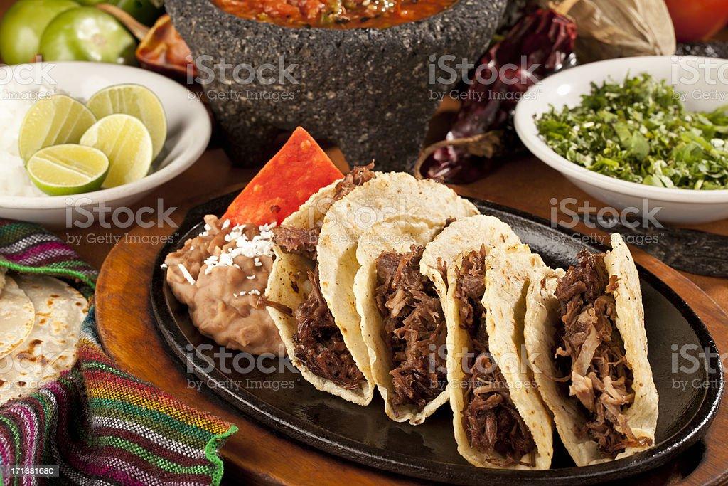 Beef Tacos stock photo