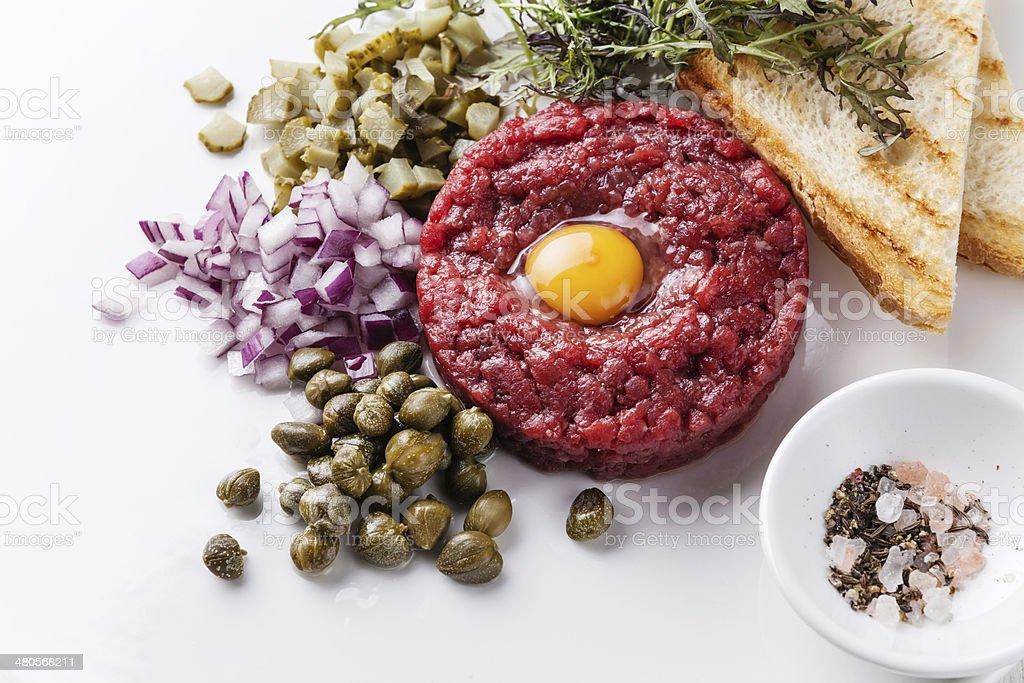 Rindfleisch-Tatar – Foto