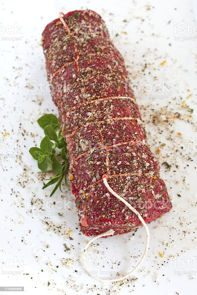 Beef Tenderloin royalty-free stock photo