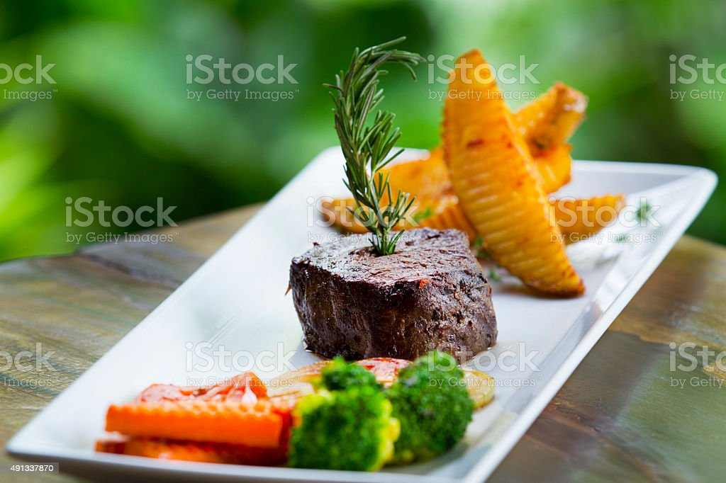 beef tenderloin stock photo